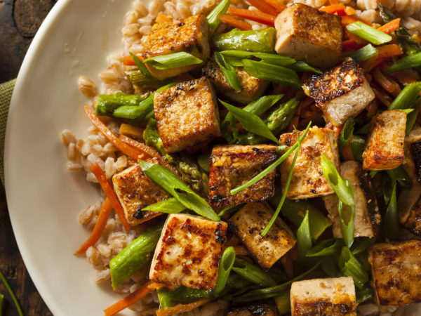 Stir-Fried Rice With Tofu   Recipes   Dr. Weil's Healthy Kitchen