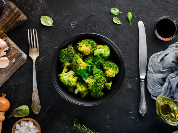 Broccoli With Soy-Lemon Dressing | Recipes | Dr. Weil's Healthy Kitchen