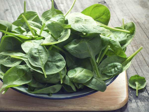 Baby Spinach - Vitamin B2 For Adrenal Health