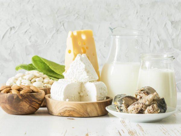 Vitamin B6 Pyridoxine - Dairy Foods and Cheeses