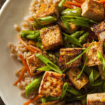 Slow-Baked Tofu With Stir-Fry | Recipes | Dr. Weil's Healthy Kitchen