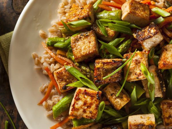 Slow Baked Tofu With Stir Fry Recipes Dr Weil S Healthy Kitchen