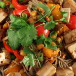 Spicy Tofu With Bean Thread Noodles | Recipes | Dr. Weil's Healthy Kitchen