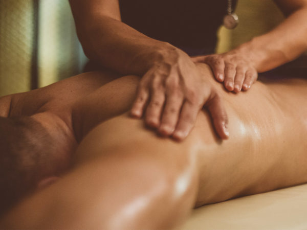 eliminating toxins with massage