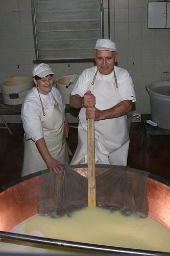 Cheesemaking Couple