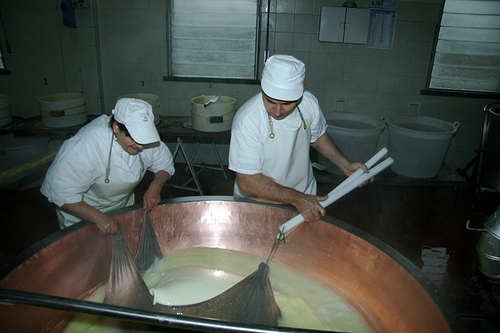Pulling Up the Curd