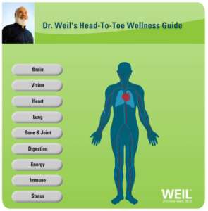head to toe wellness dr weil