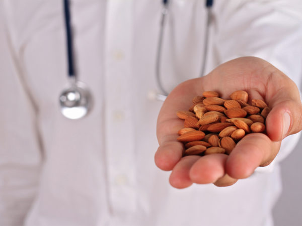 do you need vitamin b17 almonds cancer