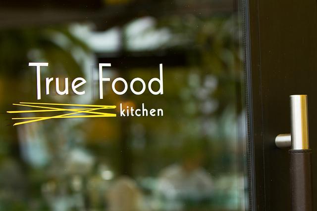 True Food Kitchen Logo opening week at true food kitchen, newport beach - dr. weil