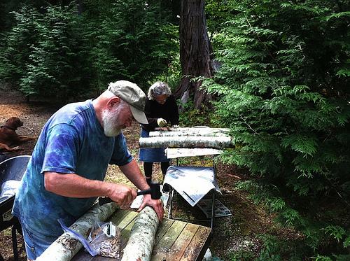 4 Preparing 16 Logs