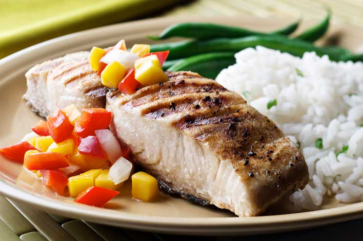 PE: BBQ DT 3 Grilled Fish