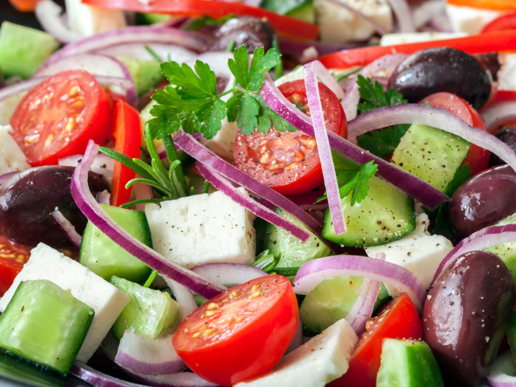 Greek salad dr weils healthy kitchen greek salad forumfinder Image collections