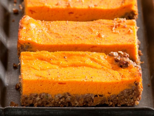Sweet Potato Bars | Recipes | Dr. Weil's Healthy Kitchen