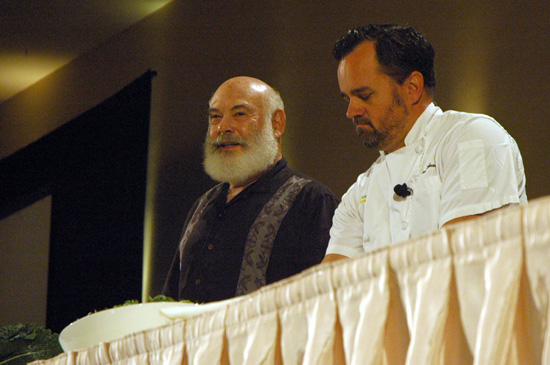 Dr Weil and Michael Stebner