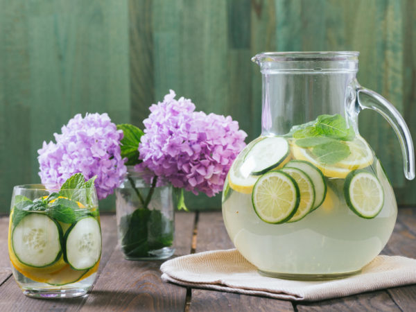 Spa in a Pitcher | Recipes | Dr. Weil's Healthy Kitchen