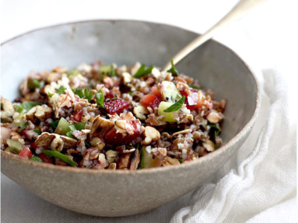 Quinoa Tabbouleh | Recipes | Dr. Weil's Healthy Kitchen