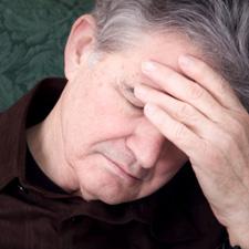 man headache depression