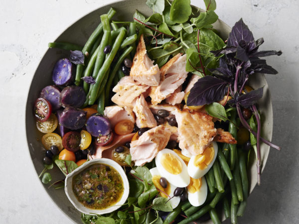 Salmon Nicoise | Recipes | Dr. Weil's Healthy Kitchen