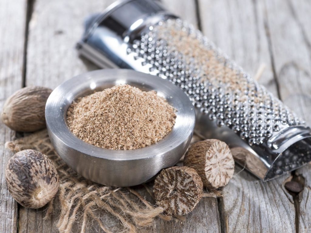 Nutmeg - and spice, and a remedy