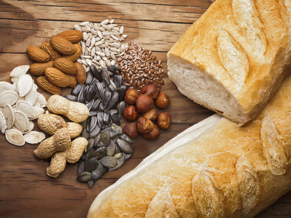 bread composition with miscellaneous grains