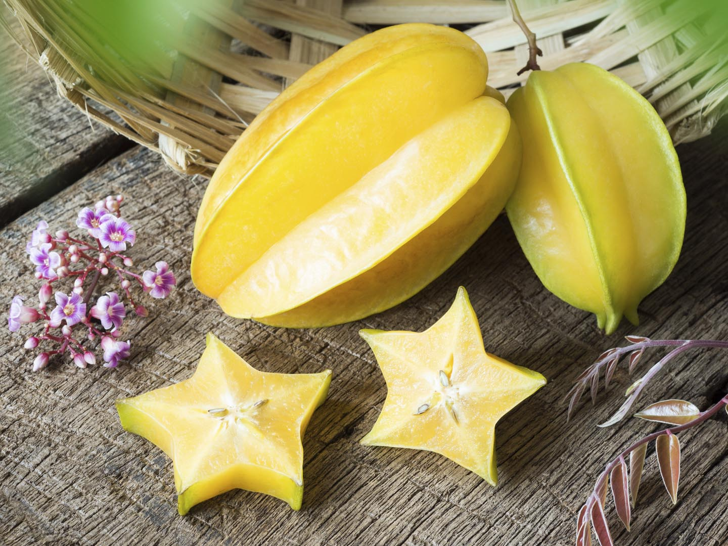 How to Eat a Star Fruit