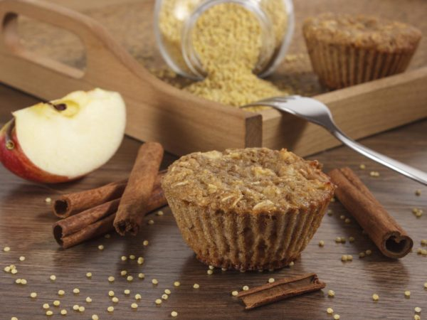 Apple Oat-Bran Muffins | Recipes | Dr. Weil's Healthy Kitchen