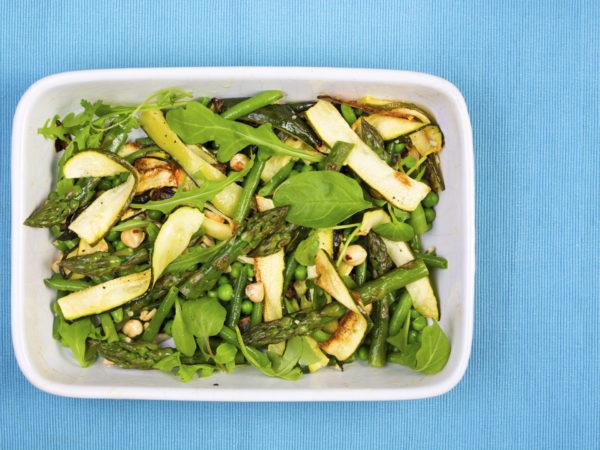 Roasted Asparagus Salad, Arugula &amp&#x3B; Hazelnuts | Dr. Weil&#039&#x3B;s Healthy Kitchen