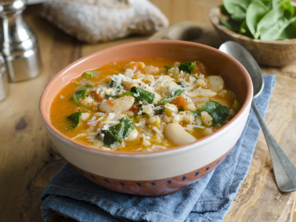Barley &amp&#x3B; Vegetable Soup | Recipes | Dr. Weil&#039&#x3B;s Healthy Kitchen