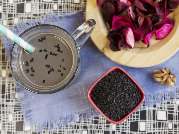 Black Sesame Smoothie | Recipes | Dr. Weil's Healthy Kitchen