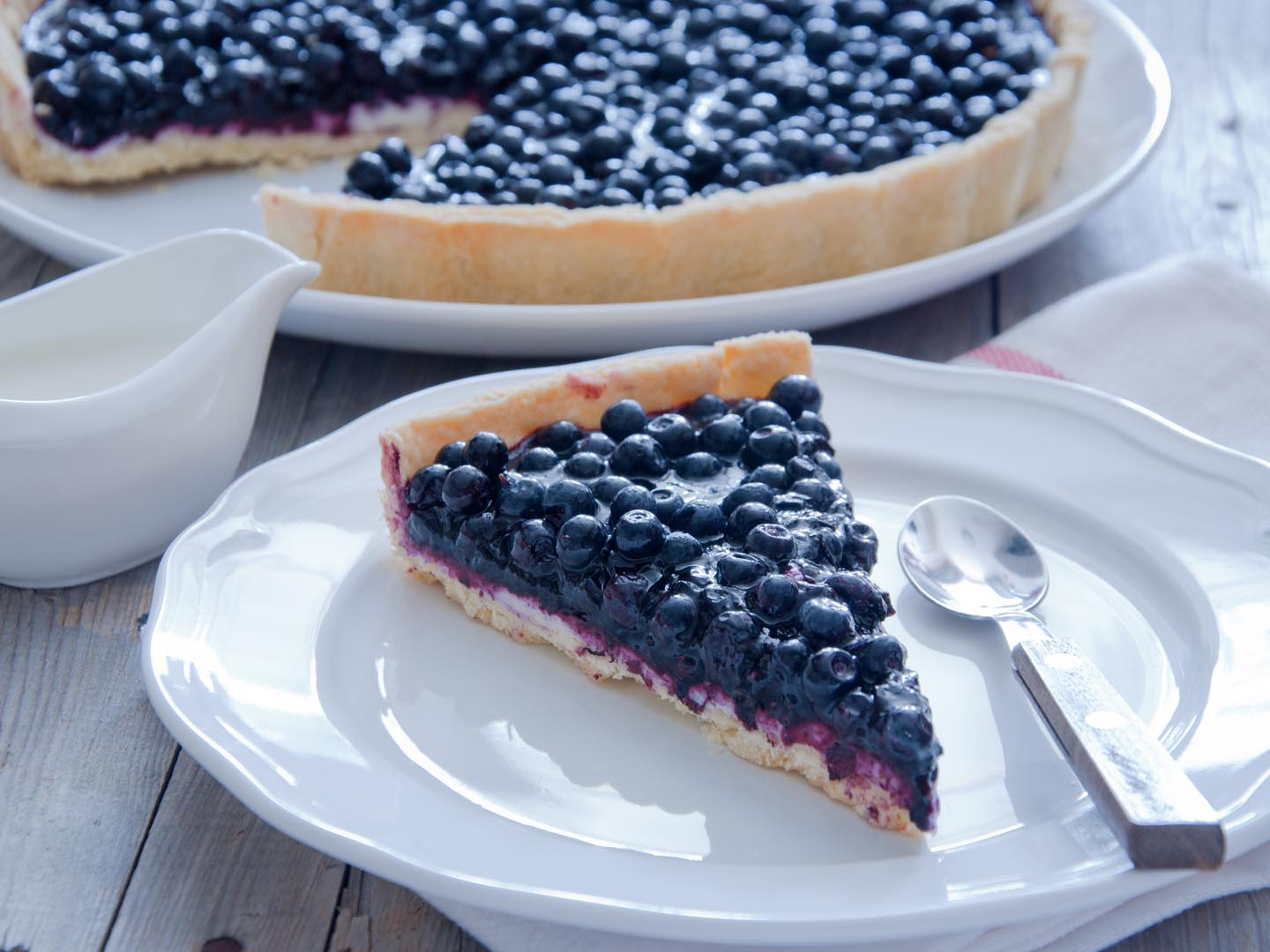 Blueberry Cake Calories
