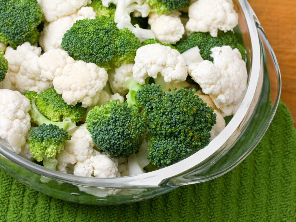 broccoli cauliflower soy lemon dressing dr weil