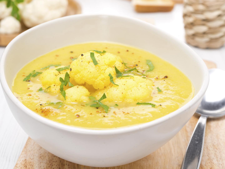 Curried Cauliflower Soup - Dr. Weil's Healthy Kitchen