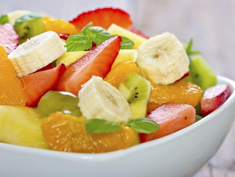 Tremendous Frosted Orange Ginger Fruit Salad Dr Weils Healthy Kitchen Easy Diy Christmas Decorations Tissureus