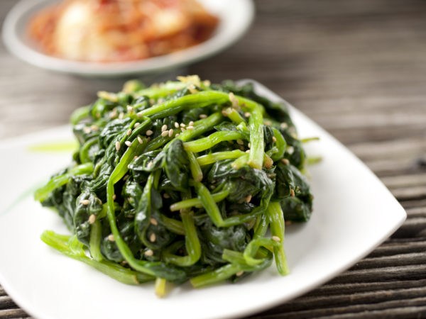 Hot & Sour Greens | Recipes | Dr. Weil's Healthy Kitchen