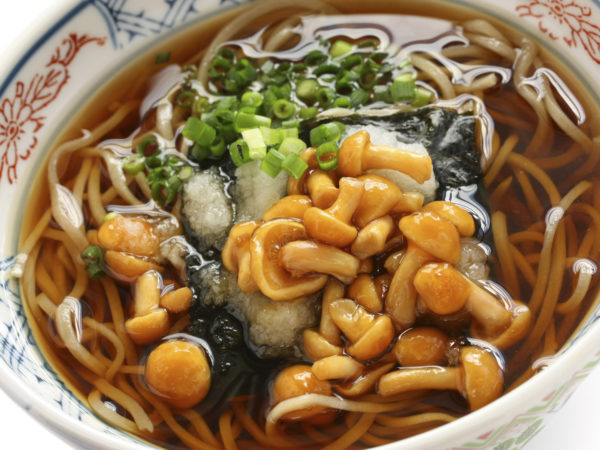Japanese Wild Mushrooms & Soba | Recipes | Dr. Weil's Healthy Kitchen