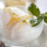 Lemon Ginger Sorbet | Recipes | Dr. Weil's Healthy Kitchen