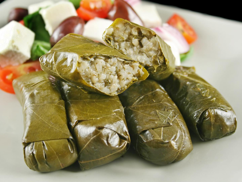 Mediterranean stuffed grape leaves dr weil 39 s healthy for Mediterranean cooking
