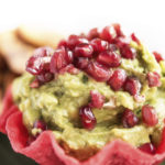 Minted Guacamole & Pomegranate Seeds   Recipes   Dr. Weil's Healthy Kitchen