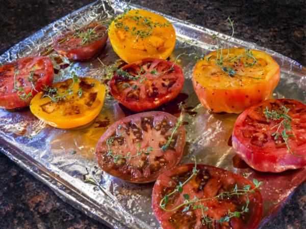 Oven-Roasted Tomatoes   Recipes   Dr. Weil's Healthy Kitchen
