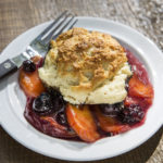 Peach & Blueberry Cobbler | Recipes | Dr. Weil's Healthy Kitchen