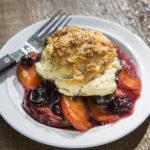Peach & Blueberry Cobbler | Recipes | Dr. Weil's Healthy Kitchen