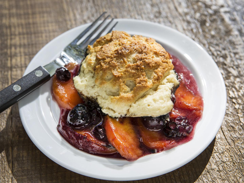 Peach & Blueberry Cobbler - Dr. Weil's Healthy Kitchen