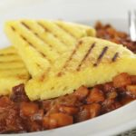 Polenta Triangles &amp&#x3B; Roasted Bell Peppers | Recipes | Dr. Weil&#039&#x3B;s Healthy Kitchen