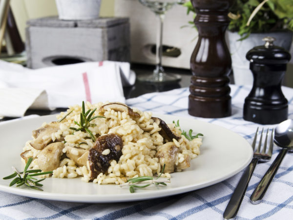 Porcini Risotto | Recipes | Dr. Weil's Healthy Kitchen