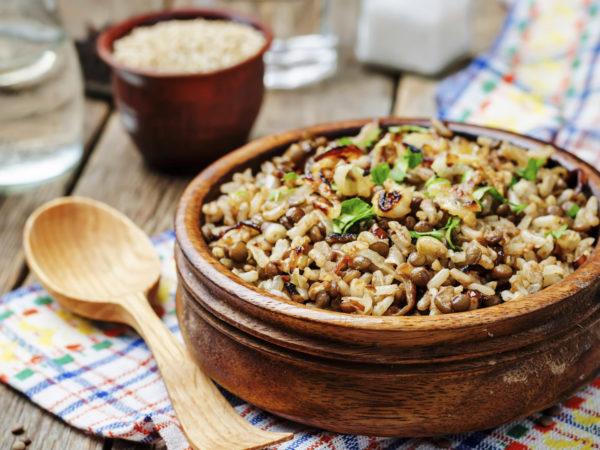 Potlatch Pilaf | Recipes | Dr. Weil's Healthy Kitchen
