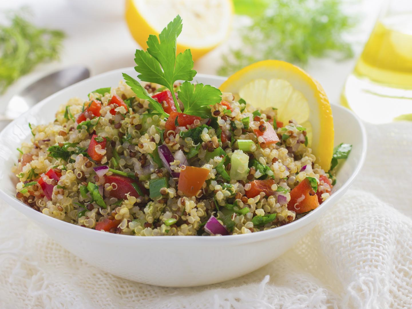 Quinoa Tabbouleh - Dr. Weil's Healthy Kitchen