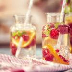 Raspberry Evening Spritzer | Recipes | Dr. Weil's Healthy Kitchen