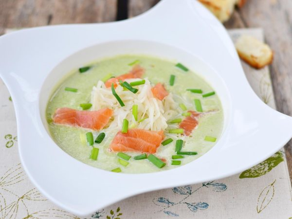 Salmon, Watercress & Sencha Soup | Recipe | Dr. Weil's Healthy Kitchen