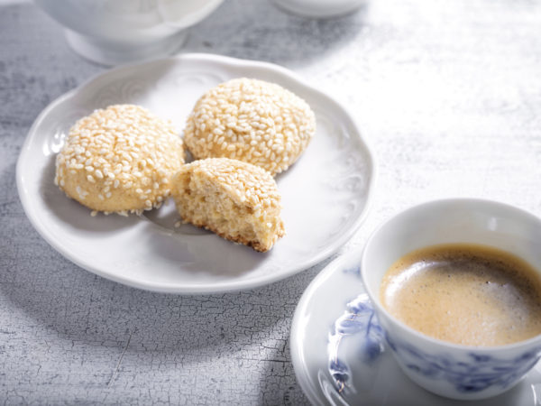 Sesame Almond Cookies | Recipes | Dr. Weil's Healthy Kitchen