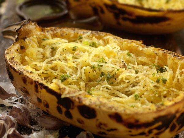 Spaghetti Squash Casserole   Recipes   Dr. Weil's Healthy Kitchen